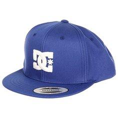 Бейсболка с прямым козырьком DC Snappy Summer Blues