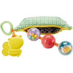 """Плюшевая игрушка-погремушка """"Горошек"""", Fisher Price Mattel"""
