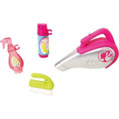 "Мини-набор для декора дома ""Уборка"", Barbie Mattel"