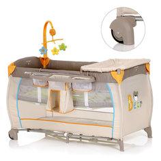 Кровать-манеж Baby Center, Hauck, bear
