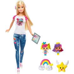 Кукла-геймер из серии «Barbie и виртуальный мир» Mattel