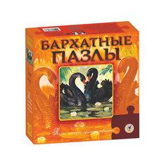 """Бархатный пазл """"Черные лебеди"""", Дрофа-Медиа"""