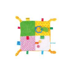 Игрушка-платочек с прорезывателем, Мякиши