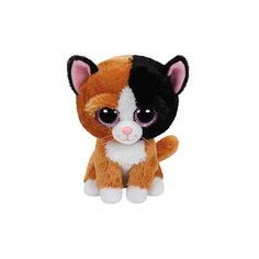 "Мягкая игрушка ""Котенок Tauri, 15 см"", Beanie Boos, Ty"