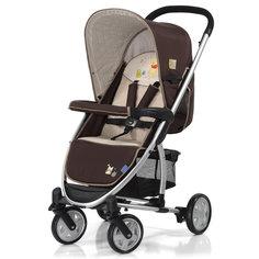 Прогулочная коляска Malibu, Hauck, pooh doodle brown Disney baby