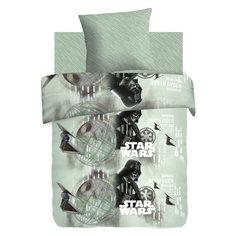 """Постельное белье 1,5 Дарт Вейдер и Империя Зла (изгой), бязь, """"Star Wars"""" (70*70) Непоседа"""