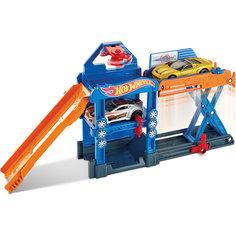 Трансформирующийся игровой набор Robo-Lift Speed Shop, Hot Wheels Mattel