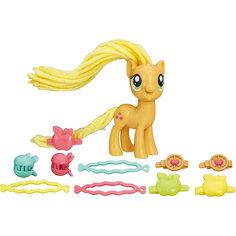 Пони с праздничными прическами, My little Pony, Эпплджек B8809/B9617 Hasbro