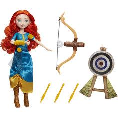 Модная кукла принцесса и ее хобби, Принцессы Дисней, Мерида Hasbro
