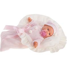 Кукла Ланита в розовом, плачущая, 27 см, Munecas Antonio Juan