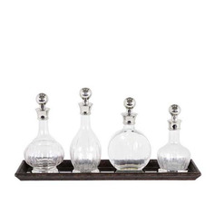 "Набор графинов ""Decanter Armagnac"" (4 шт) Eichholtz"