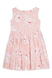Платье с принтом Alina Bonpoint