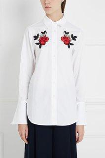 Хлопковая блузка Mo&Co