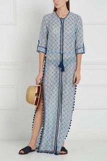 Платье из шелка и хлопка Talitha