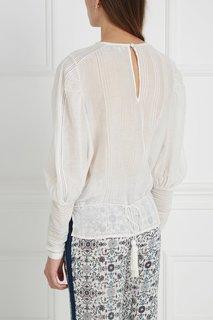 Блузка из шелка и хлопка Talitha