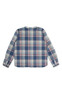 Рубашка из хлопка и льна Artiste Bonpoint