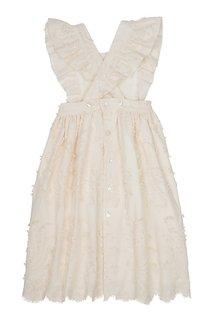 Хлопковое платье Bonpoint