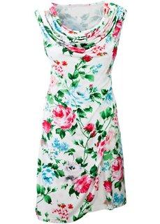Платье (нежно-лимонный с рисунком) Bonprix