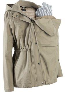 Для будущих мам: куртка со съемным жилетом и вставкой для малыша (темно-синий) Bonprix