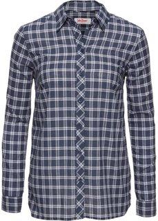 Блузка с принтом и длинным рукавом (в полоску) Bonprix