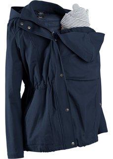Для будущих мам: куртка со съемным жилетом и вставкой для малыша (новый хаки) Bonprix