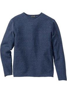 Пуловер Regular Fit (оливковый меланж) Bonprix
