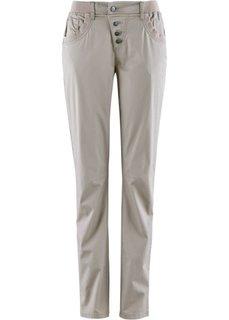Стрейтчевые брюки-карго (индиго) Bonprix