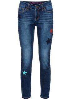 Узкие джинсы по щиколотку (темный деним) Bonprix