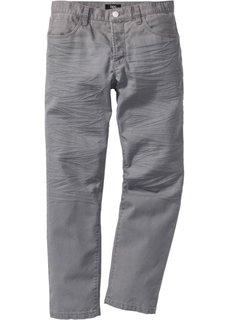 Брюки в стиле 5 карманов  Regular Fit Straight, cредний рост (N) (темно-синий) Bonprix