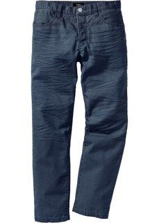 Брюки в стиле 5 карманов  Regular Fit Straight, низкий + высокий рост (U + S) (темно-синий) Bonprix