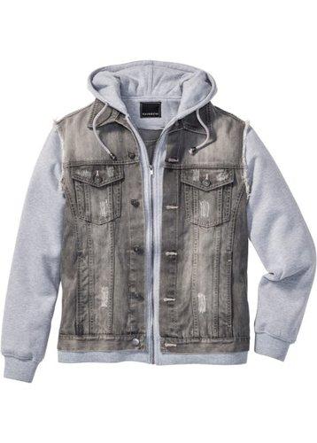 Джинсовая куртка Regular Fit (голубой выбеленный)
