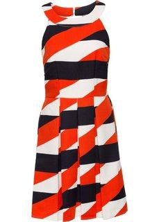 Платье (черный/темно-красный) Bonprix
