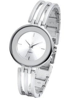 Часы на металлическом браслете (золотистый) Bonprix