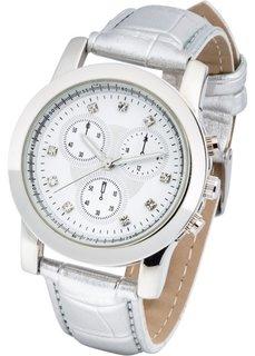 Наручные часы с анималистичным принтом (золотистый) Bonprix