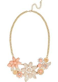 Колье Цветы (золотистый/розово-золотистый) Bonprix
