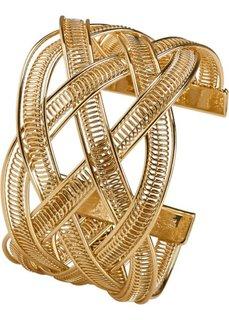 Плетеный браслет (серебристый) Bonprix