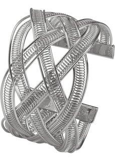 Плетеный браслет (золотистый) Bonprix