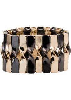 Эластичный двухцветный браслет (золотистый/серебристый) Bonprix