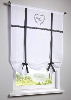 Римская штора Зои, кулиска (белый) Bonprix