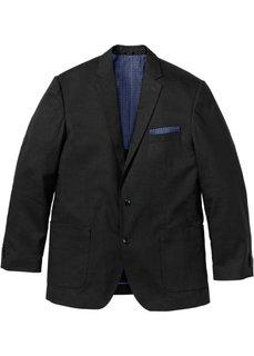 Пиджак Regular Fit в смеси льна и хлопка, cредний рост (N) (синий) Bonprix