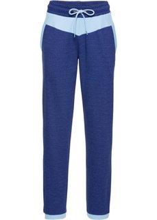 Длинные спортивные брюки (натуральный меланж) Bonprix
