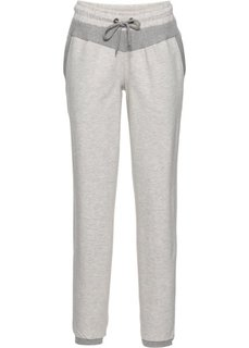 Длинные спортивные брюки (меланж ночной сини) Bonprix