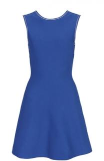 Приталенное мини-платье без рукавов MRZ