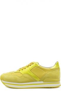 Комбинированные кроссовки H222 Hogan