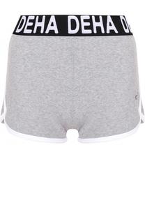 Спортивные мини-шорты с контрастной отделкой Deha