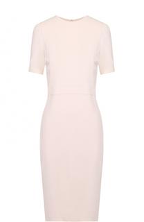 Приталенное платье-миди с коротким рукавом Givenchy