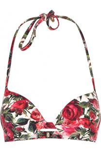 Бра с цветочным принтом Dolce & Gabbana