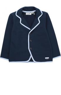 Пиджак джерси с контрастной окантовкой Sanetta Fiftyseven