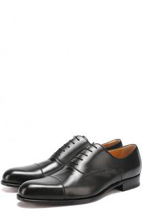 Классические кожаные оксфорды A. Testoni