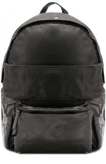 Кожаный рюкзак с двумя внешними карманами OXS rubber soul